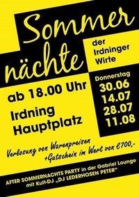 Sommernachtsfest der Irdninger Wirte!@Gabriel Entertainment Center