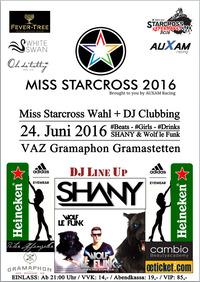 MISS Starcross Clubbing 24. Juni 2016@Gramaphon
