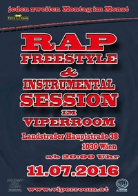 Rap Freestyle und Instrumental Session@Viper Room