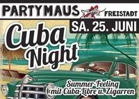 Cuba-Night@Partymaus Freistadt
