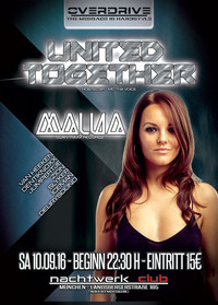 OVERDRIVE presents UNITED TOGETHER@Nachtwerk Club