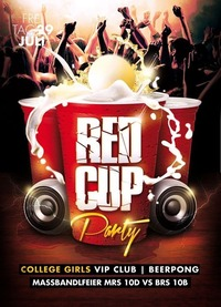 RED CUP NIGHT Beerpong Maßbandlfeier Mrs10D+BRS10B@Johnnys - The Castle of Emotions