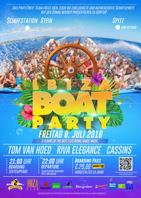 ☼ SUMMER BOAT PARTY ☼ weekend ☼@Wachau