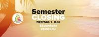 Semester Closing Party@Säulenhalle