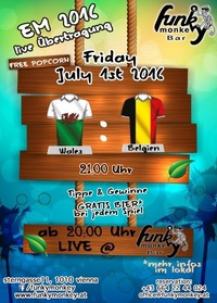 Funky Soccer Fever !!! Friday July 1st 2016@Funky Monkey