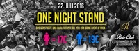 One Night Stand - Das All you can Drink Special in Wien@Ride Club