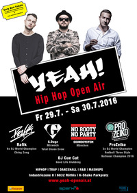 YEAH! - Hip Hop Open Air 2016@K-Shake Parkplatz