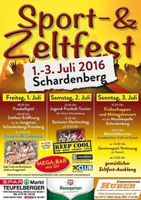 Sport- und Zeltfest Schardenberg 2016@Sportplatz