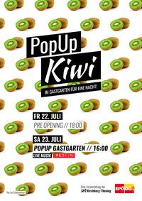 PopUp KiWi - Im Gastgarten für eine Nacht@Gastgarten Kirchenwirt Kirchberg