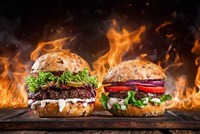 Burgergenuss im Huth Da Max@Huth Da Max