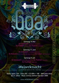 BASSPRODUKTION Oldschool Goa Party@Weberknecht