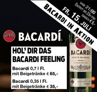 Bacardi in Aktion@Mausefalle