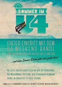 U4 Weekendbandl@U4