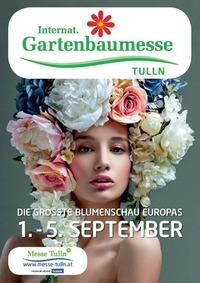 Int. Gartenbaumesse Tulln mit Europas größter Blumenschau@Messe Tulln