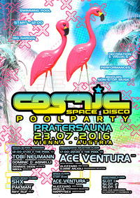 COSMIC – Summer POOLPARTY mit ACE VENTURA@Pratersauna