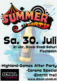 Summer Party- Highland Games After Party@Disco-Stadl Schurl