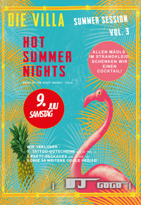 Summer Session Vol. 3@Die Villa - musicclub