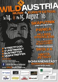 WILDAUSTRIA Musik- & Kunstfestival 2016@ehem. Logistikgelände