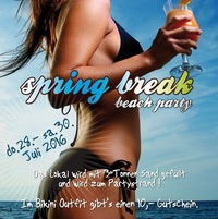 Spring break beach PARTY@Jedermann