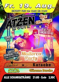 Mallorca Party mit den ATZEN@Excalibur