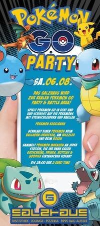 Pokemon Go Party@Salzhaus