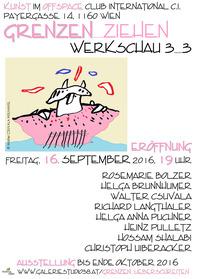 GRENZEN_ZIEHEN Werkschau 3_3 @Cafe Club International C.I.