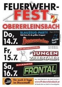 Feuerwehrfest Obererleinsbach@Obererleinsbach