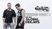 Re-Opening Part I - mit den Global Deejays@Till Eulenspiegel