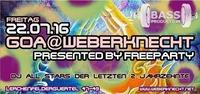 Goa AT Weberknecht presented by FreeParty@Weberknecht