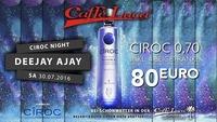CIROC Night - DJ AJAY @ Caffe Luca@Caffé Luca
