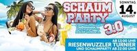 ◭◭ MEGA Schaum Party 3.0 ◮◮@MAX Disco