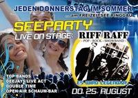 Seeparty mit Riff Raff@Disco Coco Loco