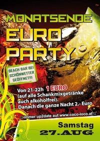 Monatsende Euro Party@Disco Coco Loco