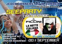 Seeparty mit Ivan Fillini@Disco Coco Loco
