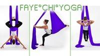 Aerial Yoga im August@Faye°Chi Yoga