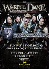 Warrel Dane live in Vienna - performing special Nevermore & Sanctuary setlist@Viper Room