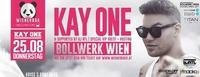 » KAY ONE LIVE II Bollwerk Wien II 25.08 «@Bollwerk