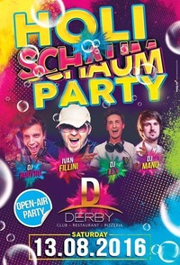 HOLI-SCHAUM-PARTY@Derby Club & Restaurant
