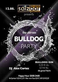 Bulldog Gin Party mit DJ Alex Cortez @Salzbar@Salzbar