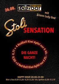 Stolisensation mit DJane Lady Dee Salzbar@Salzbar
