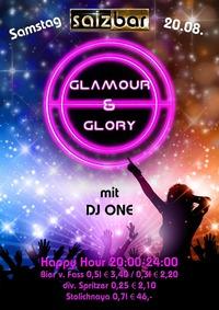 Glamour & Glory mit DJ One @Salzbar@Salzbar