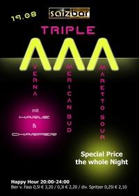 Triple A mit Harlie&Charper @Salzbar@Salzbar