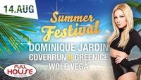 Summer Festival mit Dominique Jardin@Fullhouse