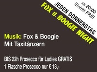 Jeden Donnerstag – FOX und Boogie Night@Mausefalle