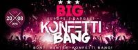 BIG! Europe's largest Konfetti BANG@Baby'O