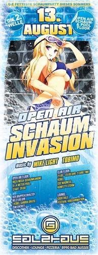 Schaum Invasion Open Air@Salzhaus