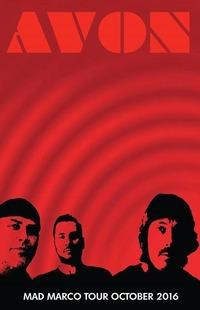 AVON Alfredo Hernandez (Ex Kyuss/QOTSA) new band! European TOUR October 2016@Viper Room