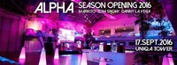 Alpha´s Grand Season Opening im Uniqa Tower (Wiens genialste Location)@Club Alpha