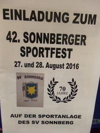 42. Sonnberger Sportfest@Sportanlage Sonnberg