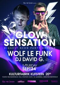 Glow Sensation Kufstein - biggest Neon-party around@Kulturfabrik Kufstein